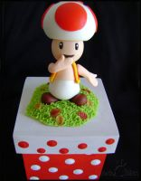 Toad Super Mario by Oracle-of-Moon