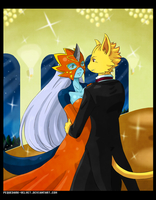 COMMISSION .:First Dance:. by PEQUEDARK-VELVET