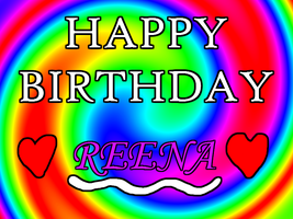 Happy Belated Bday Reena by PJ987