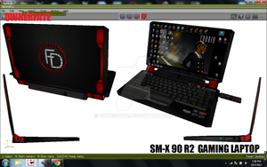 SM-X 90 R2 gaming laptop by ownerfate