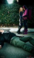 Hawkeye and Mockingbird - Dead it by WhiteLemon