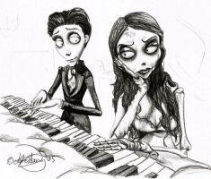 Corpse Bride Sketchiepoo by RohanElf