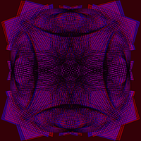 Abstract Infinity.20 Anaglyph by Mordial33