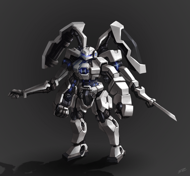 Power Suit Mech concept by Smearg