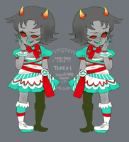 HS: Mahou ShoujoStuck Terezi by motherfuckingkawaii