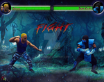 Colonel Guile Vs. Sub-Zero by Askmaer