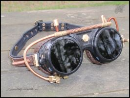Steampunk Goggles by LeatherCraft