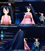 Another Project Diva PSP WIP (Miziki) by nightsail