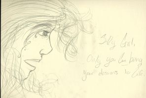 Only you can bring your dreams to life. by Susurratrix
