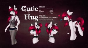 Reference sheet Cutie Hug by Jaskierpl