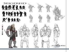 Seigfried Concept Art by DanGlasl