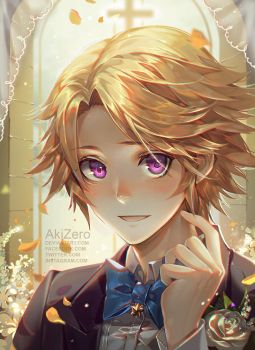 [Walking down the aisle] Yoosung by AkiZero1510