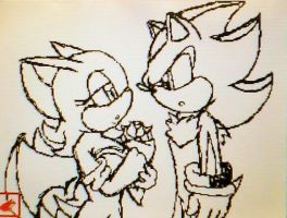 Shadouge V-Day Dsi Sketch (At First Sight) by Scorpiobie