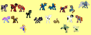 Harry Potter MLP by Cally-wally