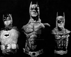 Batmen by jeffjanelle