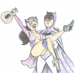 batman and catwoman by Legacy1976