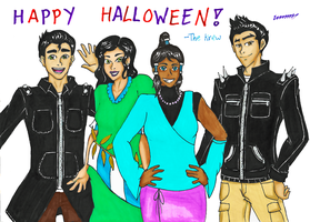 HAPPY HALLOWEEN! (The Krew) by Emmajh97