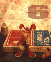 Avoid the Noid Domino's Pizza by THE662STER