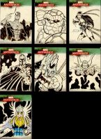 Sketch Cards 2 by Bryce-Lee