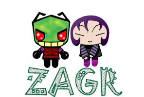 ZAGR in a pucca style by JasmineAlexandra