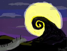 The Spiral Hill by IZNMBCgirl