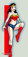 WONDER WOMAN XXXI by TULIO19mx