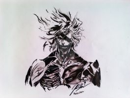Raiden from Metal Gear Rising by kevinzhen