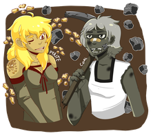 Fools Gold and Coal by Tuxiie