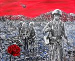 Rows Of Soldiers by Abuttonpress2Nothing