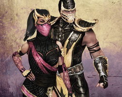 Scorpion x Mileena 6 by Weskervit789