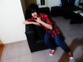 Cosplay Marshall Lee by SasukeNicolasUchiha