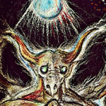 Evocation of the Nightly Spirit (detail) by PresteArt