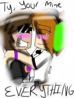 Skylox- Ty, your mine everything by minecraftfan109