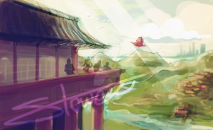 Land of Ninjago (wip) by skcolb