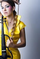 Ceren Aksan - Electric Violin6 by cren