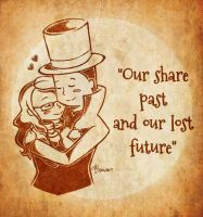 Layton and Claire by Xx-Meteora-xX