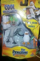 New PoM figures (King Julien and Private) by Edness-Madness