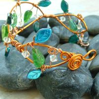 Forest Fairy Vine Bracelet by Thyme2dream
