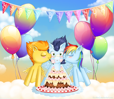 Soarin Birthday by tinuleaf