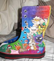 Pokemon Shoes Side 1 by Seto0946