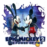 Epic Mickey 2: The Power of Two Dock Icon by Rich246