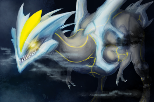 icedragon that came from the stars by IceStarDragonHC