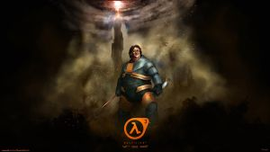 Gabe newell wallpaper 1366 x 768 by DarrenGeers
