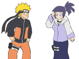 NaruHina - How do I look? by Gaiash
