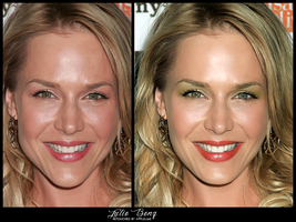 Retouch Julie Benz by theskyinside