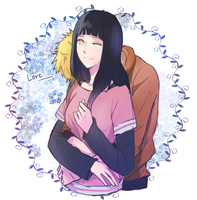 naruhina2 by warable