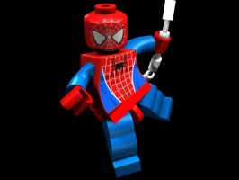 Spider-Man LEGO Minifigure by MarvinRMendoza