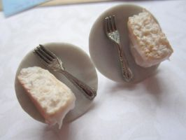 Angle Food Earrings by CandyChick