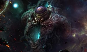 Azathoth Rising by TentaclesandTeeth