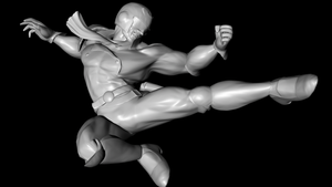 Captian Falcon high-res pose 2 by PortableNetworkGraph